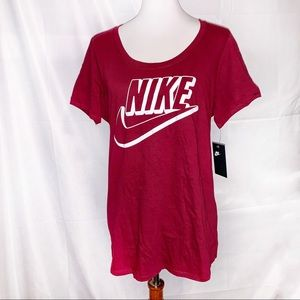 Nike Futura Team Red T-Shirt - Size 2X Large